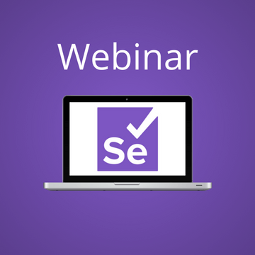 Webinar: Selenium Level 5